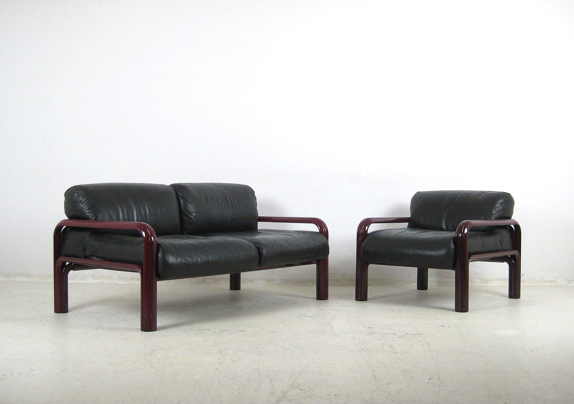 Ansprechend Zweiersofa Referenz Von Gae Aulenti, + Lounge Sessel Für Knoll
