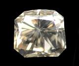 Loser Diamant, Radiantschliff, ca. 0.56 ct