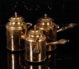 Chokladkannor, Skultuna mässingsbruk, 1800-talets första hälft (3)