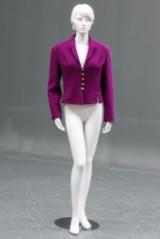 Chanel, kort håndsyet jakke, dansk str. 36