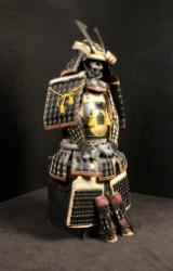Samurai armour: Gendai Kuro Gusoku Ando Shigenobu O-Yoroi, Japan