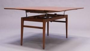 Unika Slutpris för Soffbord matbord, kombinationsmodell, teak, UN-57