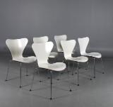 Arne Jacobsen, Sjuan, stolar, 6 st