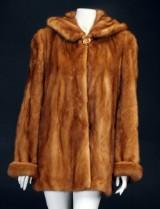 Kopenhagen Fur pels jakke af mink str 42
