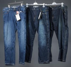 Bull-It MC-jeans til herrer, str. 38 / 42 / 52. (3) - Dk, Odense, Kratholmvej - Bull-It MC-jeans til herrer. 1 par Vintage SR6, regular legs, str. 38, 1 par Vintage SR6, regular leg str. 42, 1 par Vintage SR6, short leg, str. 52. Nye og ubrugte. (3)Denne auktion er en del af et konkursbo. - Dk, Odense, Kratholmvej