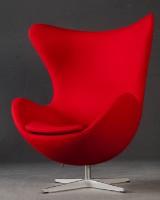 Arne Jacobsen, The 'Egg Chair / 'Das Ei' / 'Ægget', model 3316 for Fritz Hansen