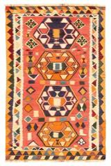Persisk Ghashghai Kelim, 234 x 145 cm.