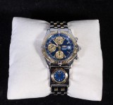 Breitling, Chronograph, Chronomat Automatic, 18 K and steel