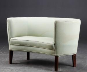 lille sofa Lille sofa, two seater, Dansk møbelarkitekt / snedkermester  lille sofa