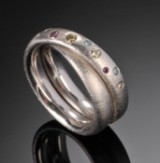 Brilliant-cut diamond ring, approx. 0.20 ct. Ruben Svart