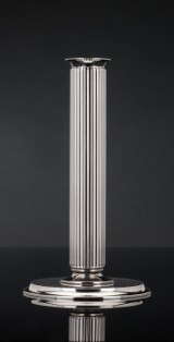 Sigvard Bernadotte for Georg Jensen. A candlestick, sterling silver, design no. 855E. 3527745