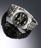 Breitling 'Aerospace Minute Repetition'. Herreur i titanium med koksgrå skive, 1990'erne