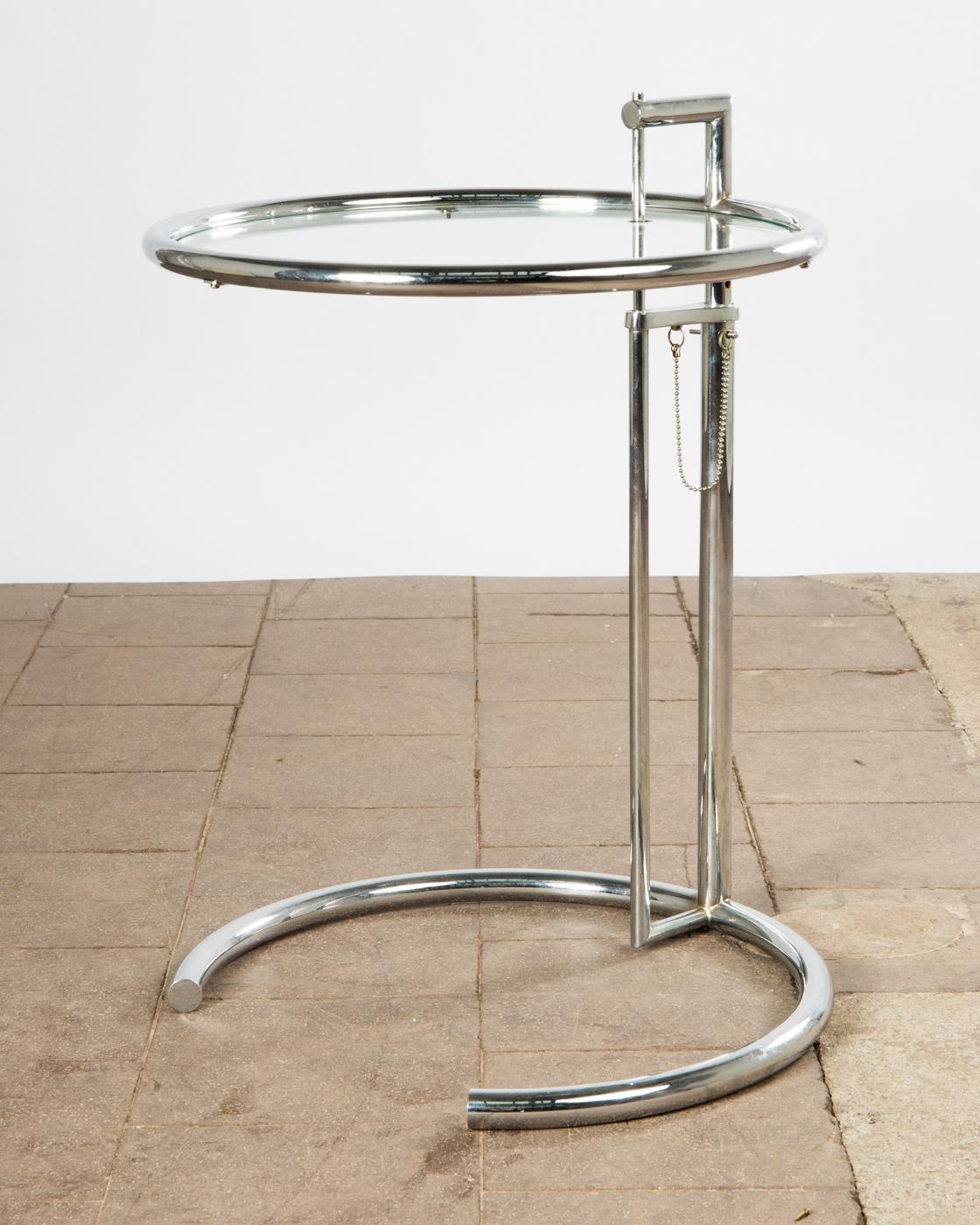 Eileen Gray, Tisch / Beistelltisch, Coffee Table, Modell U0027E.1027u0027 |  Lauritz.com