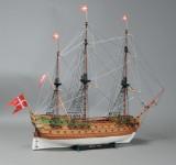 Skibsmodel efter Norske Løve - Til fordel for Knæk Cancer 2014