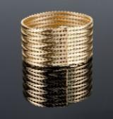 Wide Genève bracelet  - 82.2 grams