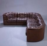 De Sede, Schweitz. Fritstående Lounge sofasæt, model DS-11. (6)