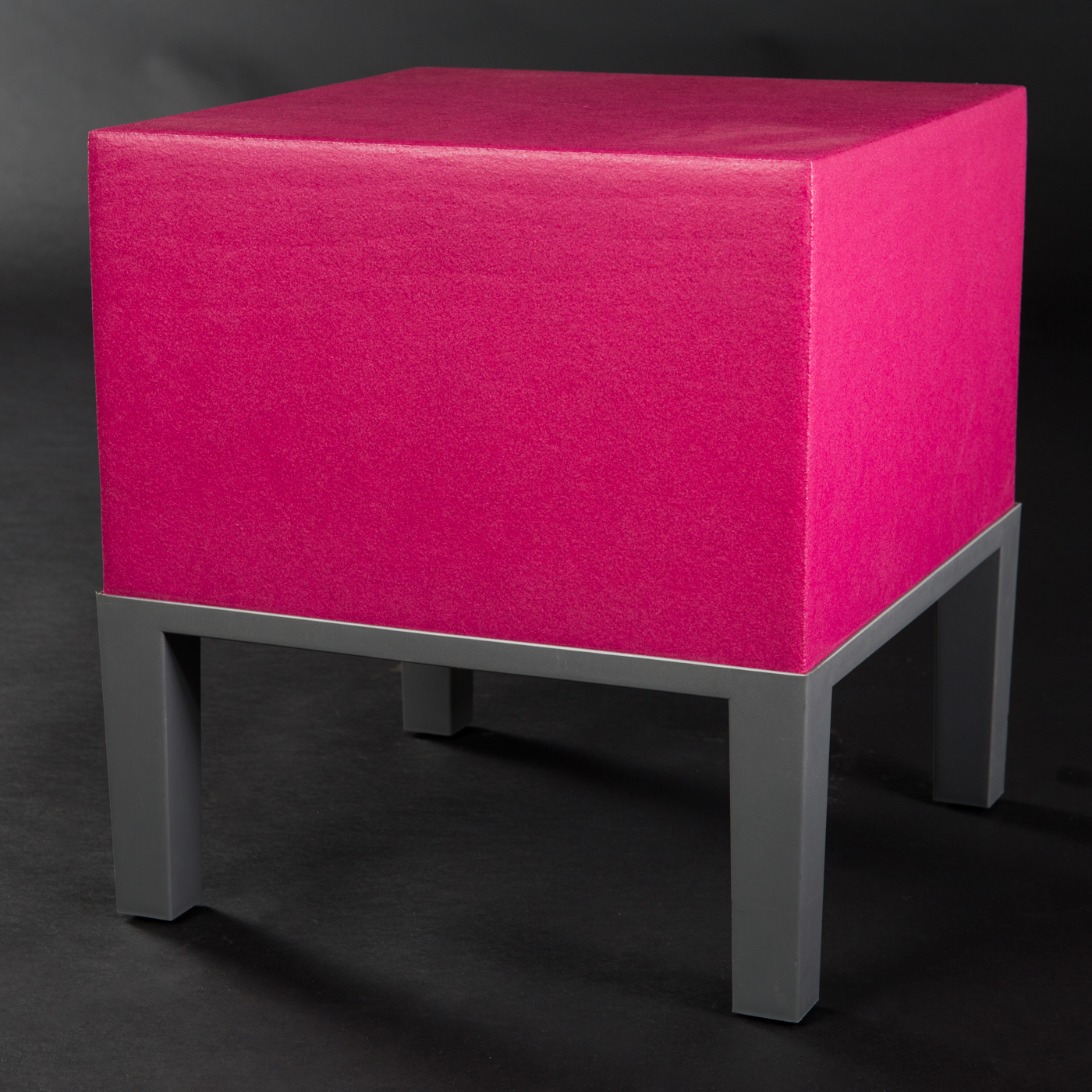 Marvelous Quinze U0026 Milan Monstro Project Primary Pouf 01 / Hocker / Ottomane, Pink /  Magenta | Lauritz.com Photo