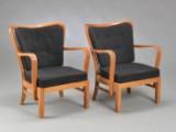 Fritz Hansen. To lænestole, 1940'erne (2)