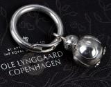 Ole Lynggaard. 'My Friend' nøglering af sterlingsølv.