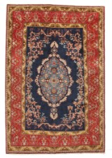 Hand-knotted Persian carpet, Najafabad 300 x 200 cm