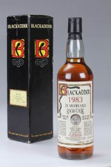 Port Ellen. Blackadder Raw Cask Scotch Whisky 1983