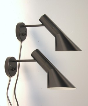 Arne Jacobsen 1902 1971 Par Aj Vaeglampe 2 Lauritz Com
