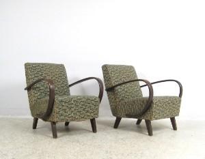 Vara 3461566 paar lounge sessel tschechien 1930 40er for Sessel 40er jahre