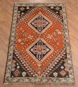 Persisk Shiraz tæppe, 194x131 cm.