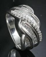 Diamond ring approx. 0.87ct