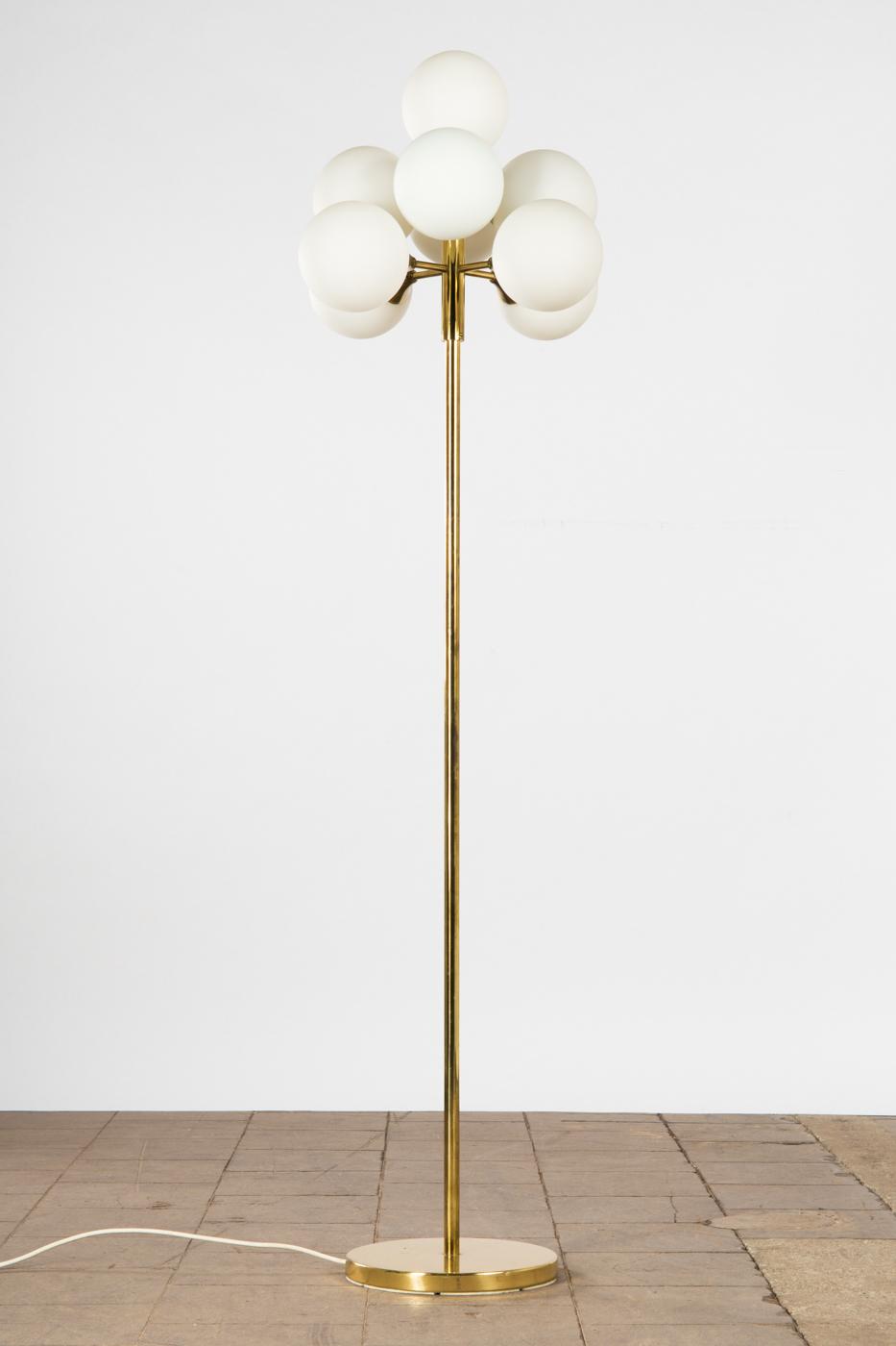 Max Bill Stehlampe Leuchte Lampe Schweiz Metall Und Glas Ca