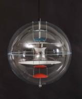 Verner Panton. VP-Globe pendant, Ø 40 cm.