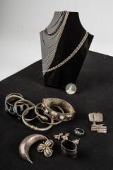 Konvolut 800er und 835er Silber, Gewicht ca. 240 Gramm