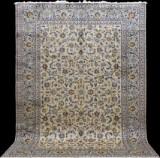 Carpet, light-green Keshan, Persia, 370 x 262