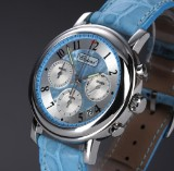 Chopard 'Mille Miglia - Elton John'. Limited edition unisex watch, steel, with two-tone dial, 2000s