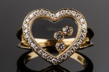 Chopard Happy Diamonds diamond ring, 18 kt. gold