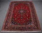 Persisk Keshan tæppe, uld på bomuld, 346 x 244 cm.