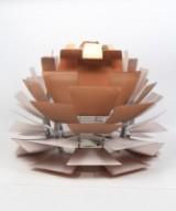Pendant lamp, Louis Poulsen, PH Artichoke, copper by Poul Henningsen. Ø 60 cm