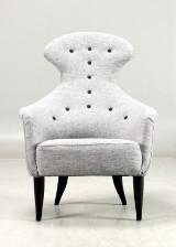 Kerstin Hörlin-Holmquist, NK, lounge chair, 'Stora Eva'