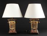 Par kinesiske bordlamper (2)