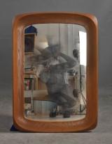 Ateljé Glas & Trä. Spegel i teak, 1960-tal
