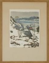 Roland Svensson litografi