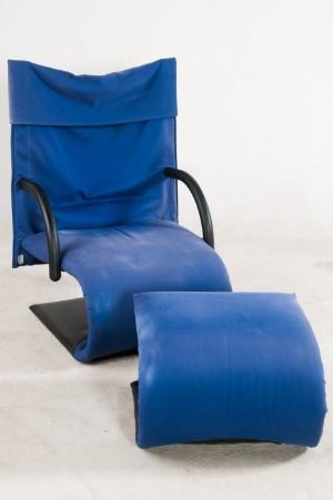 Claude Brisson Lounge Sessel Modell Zen Mit Fußhocker Ottoman Für