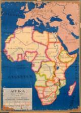 Skolkarta över Afrika
