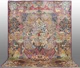 Oriental carpet, figural Kashmar, 385x300 cm