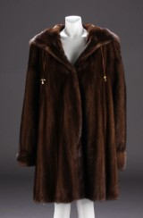 Kopenhagen Fur, Burgundy Mink, size 40