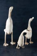 Tre stycken skulpturer i form av änder (3)