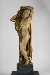Figur/skulptur, alabaster, nøgenstudie