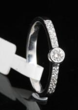 18kt diamond ring approx. 0.29ct