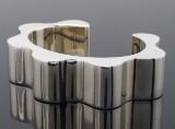 Kurt Nielsen, armring model Oceans Colliding, sterling sølv