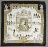 Hermès-Seiden-Tuch,  L´Ecole Espagnole de Vienne